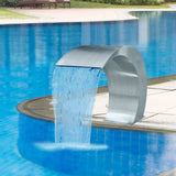 garden-waterfall-pool-fountain-stainless-steel-45x30x60-cm-vxl-41685-bitpay-gocoin-coinbase
