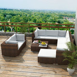 10-piece-garden-lounge-set-with-cushions-poly-rattan-brown-vxl-41875-bitpay-zip-coinbase