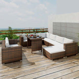 10-piece-garden-lounge-set-with-cushions-poly-rattan-brown-vxl-41877-bitpay-zip-coinbase