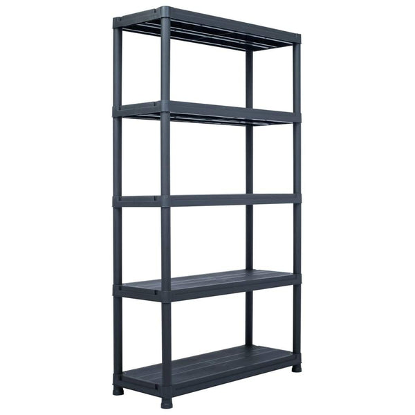storage-shelf-rack-black-500-kg-100x40x180-cm-plastic-vxl-45678-bitpay-zip-coinbase