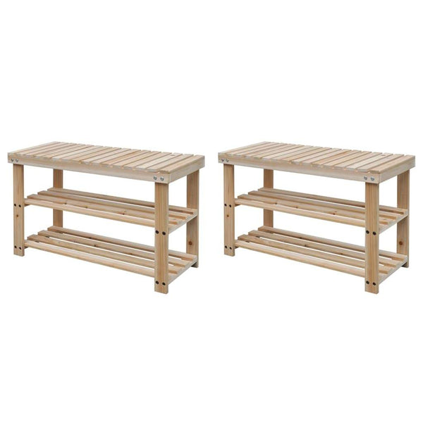 2-in-1-shoe-rack-with-bench-top-2-pcs-solid-wood-vxl-276040-bitpay-gocoin-coinbase