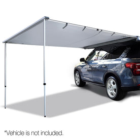 3X3M Car Awning Grey