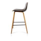 Set of 2 Wooden Bar Stool