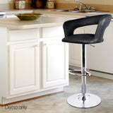 Set-of-2-PU-Leather-Kitchen-Bar-Stool-Black-BA-TW-NEWT328G-BKX2