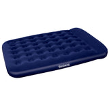 Bestway Queen Inflatable Air Mattress Bed w/ Built-in Foot Pump Blue