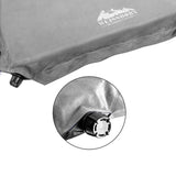 Double Self-Inflating Mat 10cm Grey
