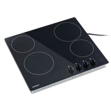 6000W Four Burner Ceramic Cooktop