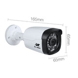 1080P Four Channel HDMI CCTV Security Camera 1 TB White Black