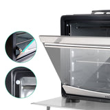34L Portable Convection Oven Black