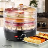 5-Tray-Round-Food-Dehydrator-Black-FD-BT5-1142-BK