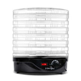 7 Tray Food Dehydrator Black