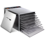 Stainless Steel Food Dehydrator – 8 Trays