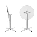 Adjustable Round Bar Table