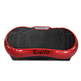 1000W Vibrating Plate Exercise Platform - Dark Red