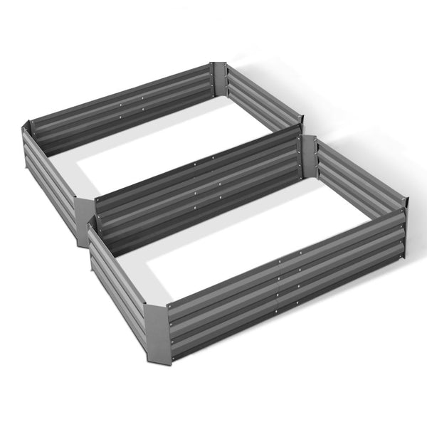 set-of-2-120-x-90cm-raised-garden-bed-aluminium-grey-garden-alumgr-12-fc2-bitcoin-bitpay-litecoin