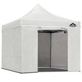 3x3 Pop Up Gazebo Hut with Sandbags White