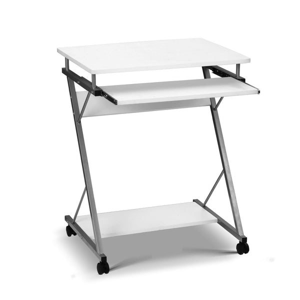 Computer Desk with Shelf White