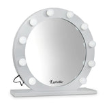 LED Makeup Mirror Frame White
