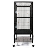 Pet Bird Cage Black Large - 140CM