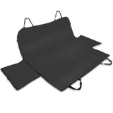 Pet Waterproof Scratchproof Car Seat Cover - Black