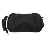 Portable Pet Carrier with Safety Leash - Black
