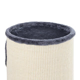 Soft Plush Cat Scratcher Condo - 3 Level – 70CM