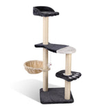 cat-tree-110cm-pet-cat-088-gr-bitcoin-bitpay-litecoin
