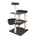 132cm-multi-level-cat-scratching-tree-post-grey-pet-cat-fl07-dg-bitcoin-bitpay-litecoin