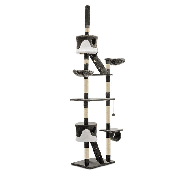 Cat Tree 260cm Grey