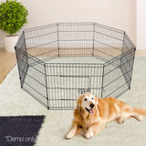 8-Panel-Pet-Playpen---24-Inch-PET-DOGPLAYPEN-24