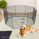 8-Panel-Pet-Playpen---36-Inch-PET-DOGPLAYPEN-36