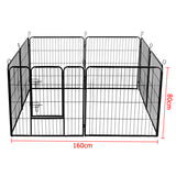 8 Panels Pet Dog Exercise Playpen 80CM