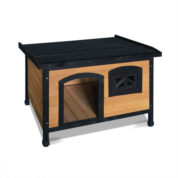 Medium Pet Dog Kennel - Black