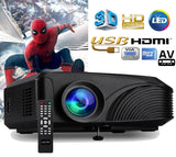 3D LED Home Theatre Projector, Multimedia for Home Cinema including HDMI Connection