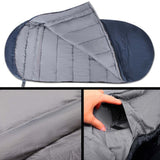 Pebble Shape Thermal Sleeping Bag 190 x 100cm Navy