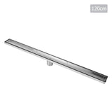 Tile Insert Stainless Steel Shower Grate Drain Floor Bathroom 1200mm