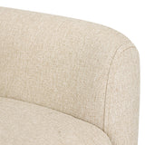 Fabric Dining Armchair Beige