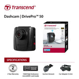 transcend-16g-drivepro-50-non-lcd-with-suction-mount-v28-eletradp50m-bitcoin-bitpay-litecoin