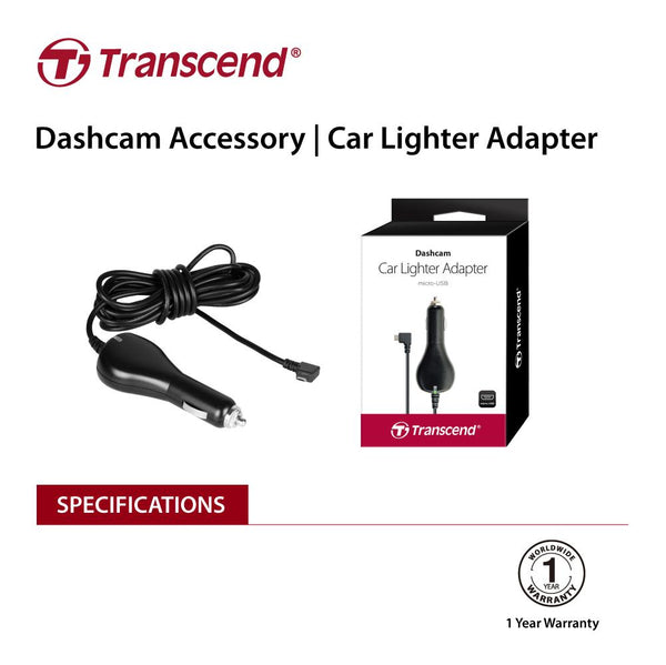 transcend-ts-dpl2-car-lighter-adapter-for-drivepro-micro-b-for-dp230-dp130-dp110-v28-eletratsdpl2-bitcoin-bitpay-litecoin