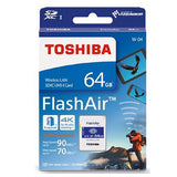 Toshiba-64GB-THN-NW04W0160C6-FlashAir-SDHC-W-4-CL10-(New)-V28-FFCTOS64GAIR04
