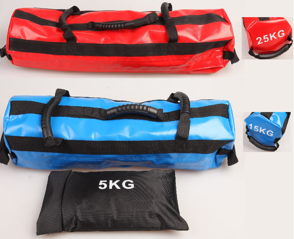 15KG & 25KG Sandbag PowerBag Sand Bag Strength Training