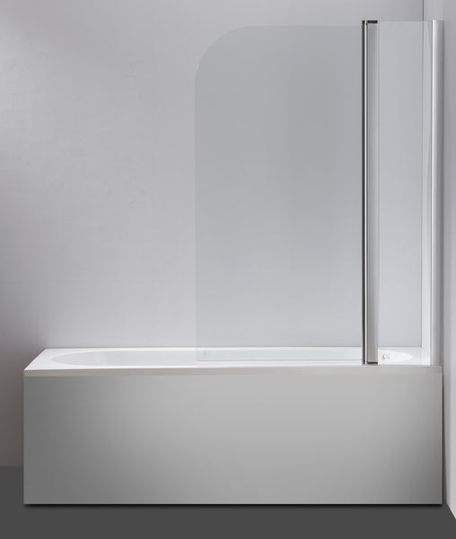 180° Pivot Door 6mm Safety Glass Bath Shower Screen 1000x1400mm By Della Francesca