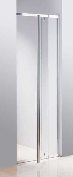 820-900 Finger Pull Wall to Wall Shower Screen By Della Francesca