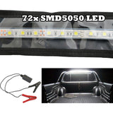 FLEXIBLE LED CAMPING LIGHT 5050 SMD CARAVAN BOAT WATERPROOF BAR STRIP 12V 1.3M