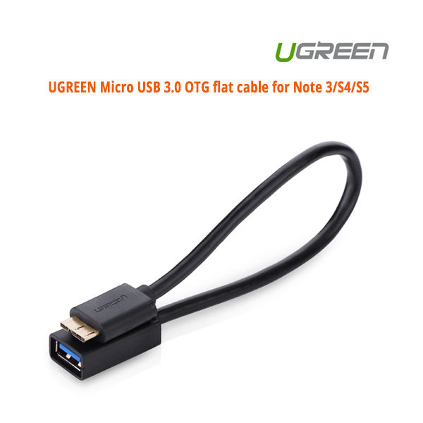 UGREEN Micro USB 3.0 OTG flat cable for Note 3/S4/S5