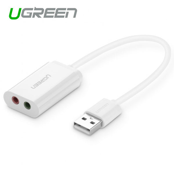UGREEN USB 2.0 External 3.5mm Sound Card Adapter