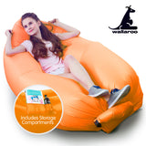 Wallaroo Inflatable Air Bed Lounge Sofa - Orange