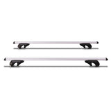 Universal Roof Rack Cross Bars Lockable