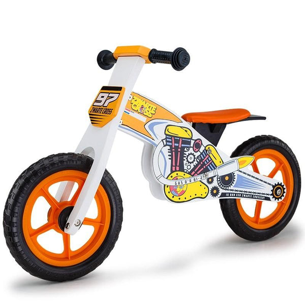 white-orange-wooden-motorcross-kids-balance-bike-myt-kidbikrovawba-bitcoin-bitpay-litecoin