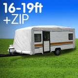 Caravan Cover with zip 16-19 ft